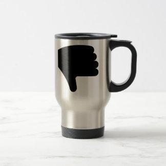 Thumbs Down Coffee Mugs