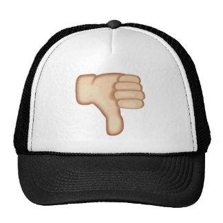 Thumbs Down Sign Emoji Cap