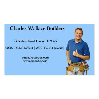 Thumbs Up Builder Business Card