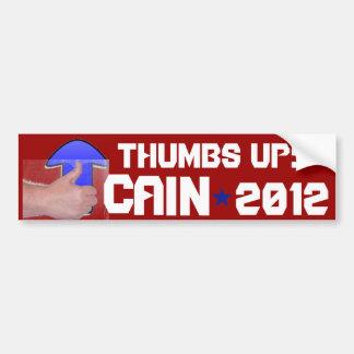 """""""Thumbs Up!"""" Car Bumper Sticker"""