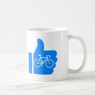 Thumbs Up Cycling Coffee Mug