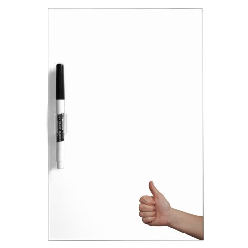 thumbs up Dry-Erase whiteboard