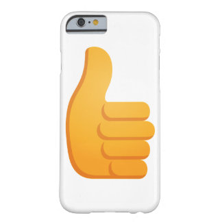 Thumbs Up Emoji Barely There iPhone 6 Case