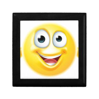 Thumbs up emoji smiley gift box