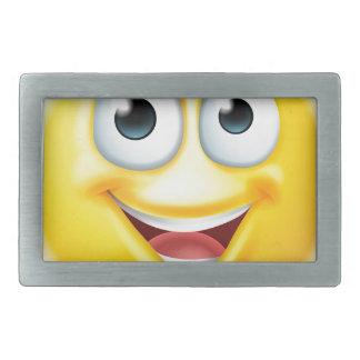 Thumbs up emoji smiley rectangular belt buckles