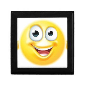 Thumbs up emoji smiley small square gift box
