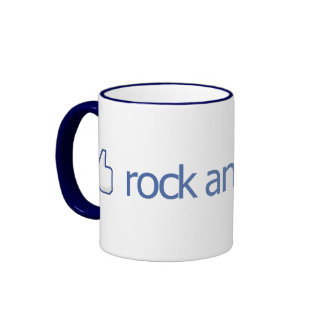 Thumbs Up for Rock and Roll - Mug