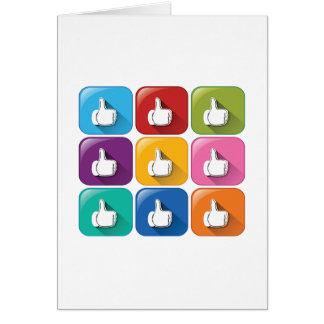 Thumbs Up Greeting Cards