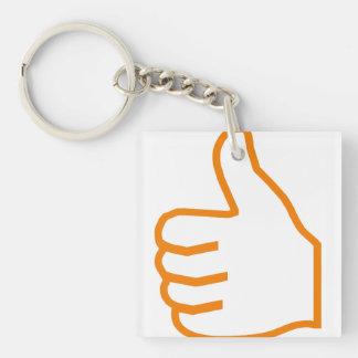 thumbs UP Acrylic Keychain