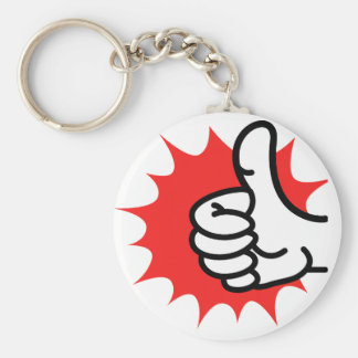 thumbs-up keychains