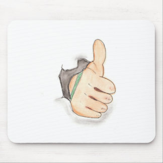 Thumbs up mouse pad