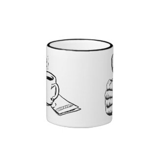 Thumb's UP Ringer Mug