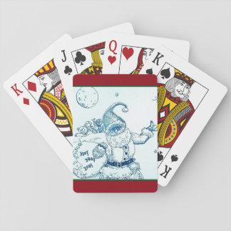 Thumbs Up Santa Poker Cards