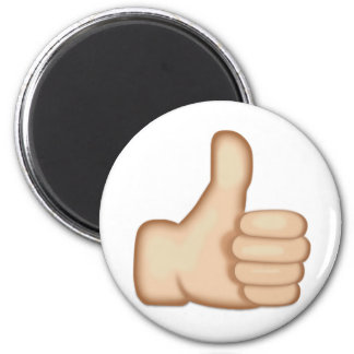 Thumbs Up Sign Emoji Magnet