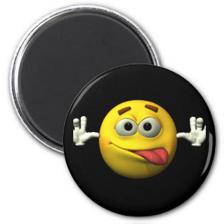 Thumbs Up Smiley Face character Fridge Magnet