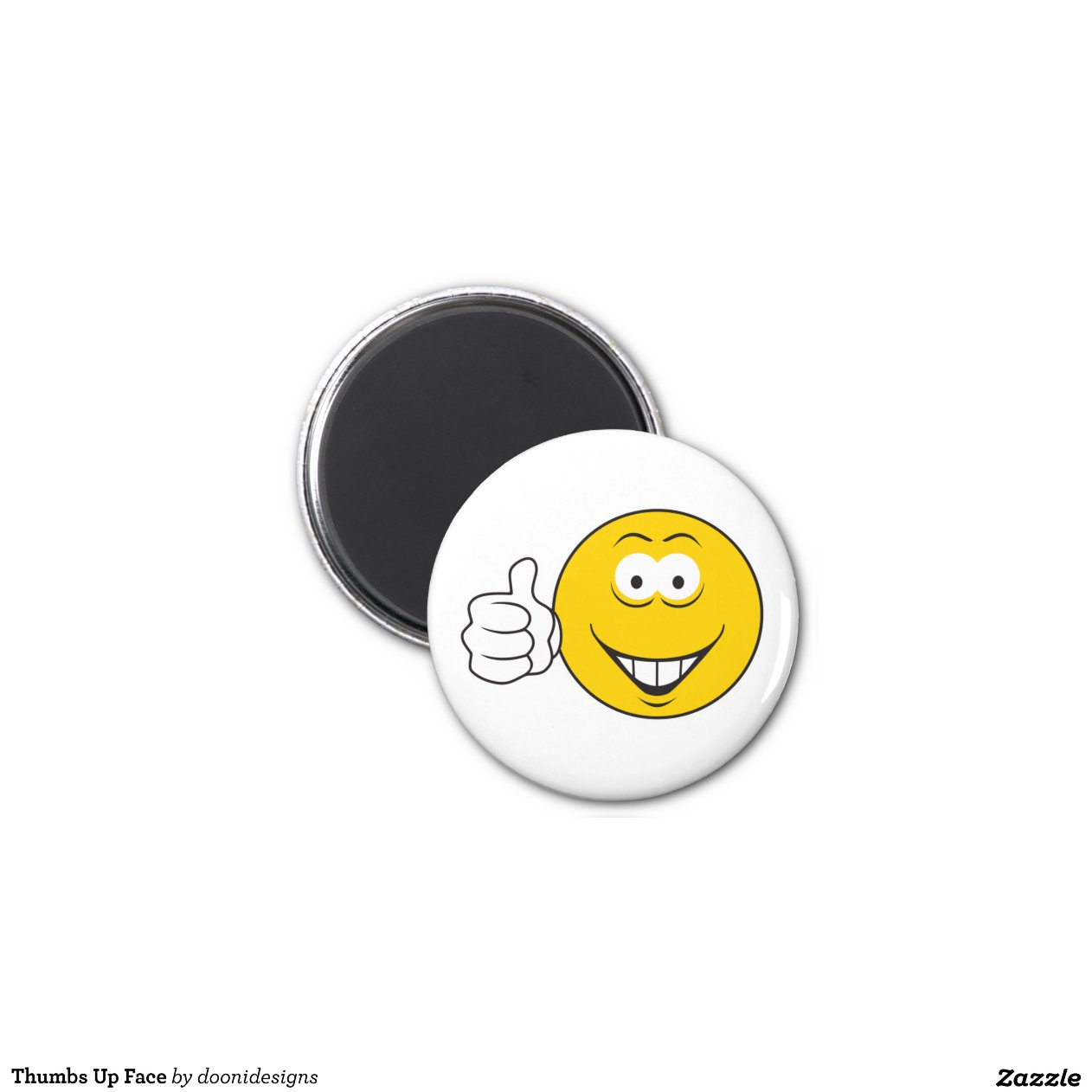 smiley face fridge magnets thumbs up smiley refrigerator magnets zazzle 5443