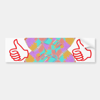 THUMBS UP .. use the STICKERs in QC for GIFT items Bumper Sticker