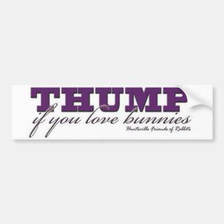 Thumper's Bumper Sticker Car Bumper Sticker