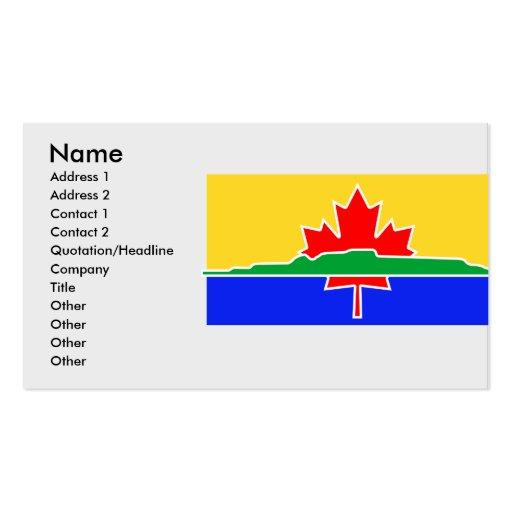 Thunder Bay, Canada Business Card Templates