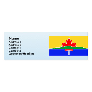 Thunder Bay, Canada Business Card Template