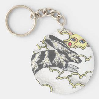 Thunder Bunny Key Ring