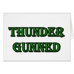 Thunder Gunned Greeting Cards
