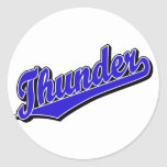 Thunder in Blue Stickers