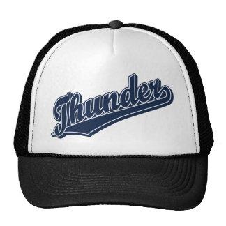 Thunder in Dark Blue Cap
