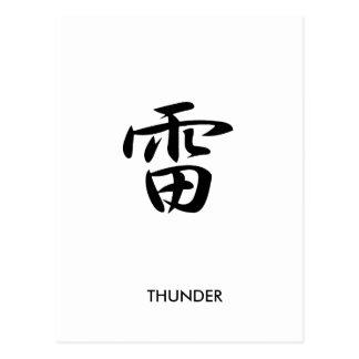 Thunder - Kaminari Post Cards