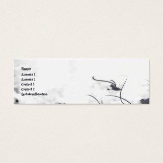 Thunder - Skinny Mini Business Card