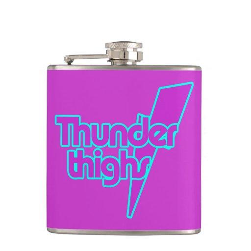 Thunder Thighs Hip Flasks