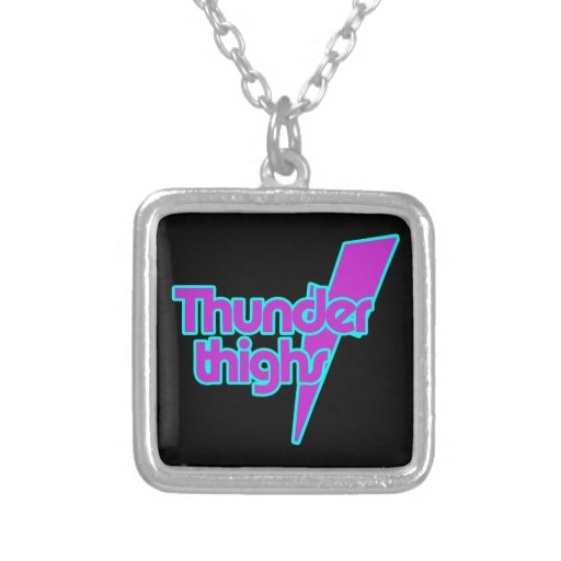 Thunder Thighs Personalized Necklace