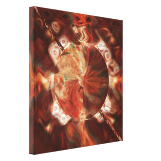 Thunder Warrior Gallery Wrapped Canvas