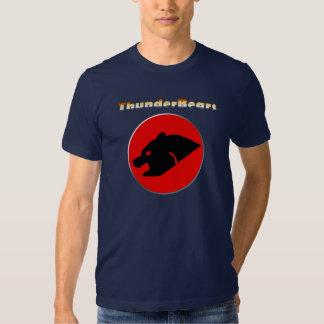 Thunderbear Bear Pride Colors Gay Bear Tee Shirts
