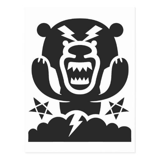 Thunderbear Original Character Design Postcard