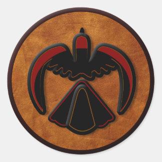 Thunderbird Classic Round Sticker