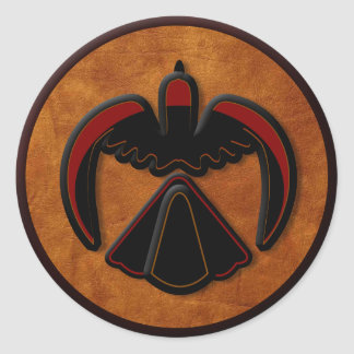 Thunderbird Round Sticker
