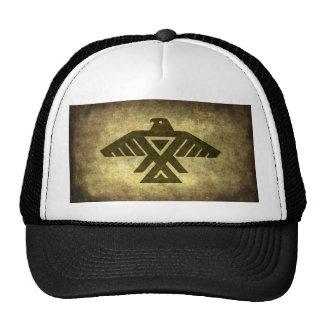 Thunderbird - Vintage parchment texture Hats
