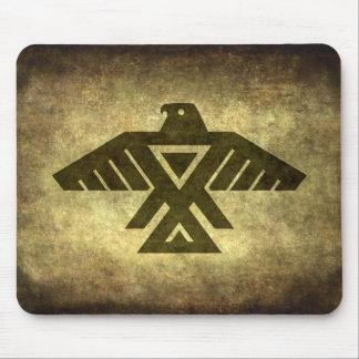 Thunderbird - Vintage parchment texture Mouse Pad