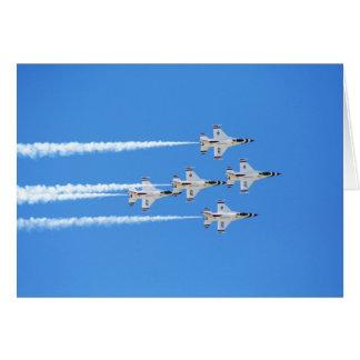 Thunderbirds ... greeting card