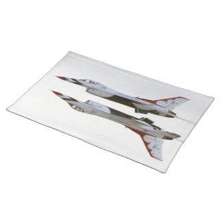 Thunderbirds Maneuver - Mirror Placemat