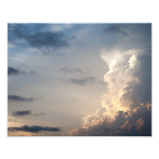 Thunderhead Cloud Heaven Sky Storm Clouds Art Photo