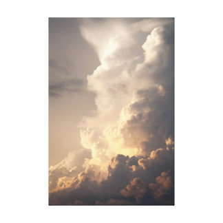 Thunderhead Cloud Heaven Sky Storm Clouds Stretched Canvas Print