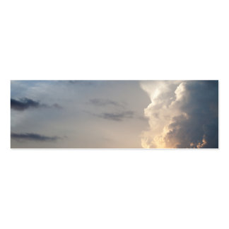 Thunderhead Cloud Heaven Sky Storm Clouds Pack Of Skinny Business Cards