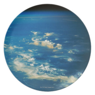 Thunderstorm Clouds Plate