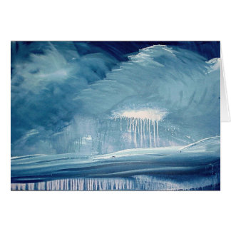Thunderstorm over south shore by Gregory Gallo Greeting Card