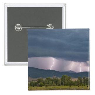 Thunderstorm produced lightning in the Jocko 15 Cm Square Badge