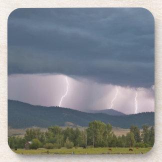 Thunderstorm produced lightning in the Jocko Coaster