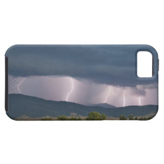 Thunderstorm produced lightning in the Jocko iPhone 5 Cover