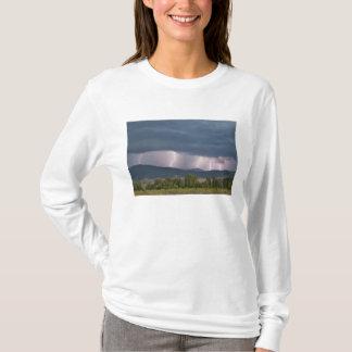 Thunderstorm produced lightning in the Jocko T-Shirt